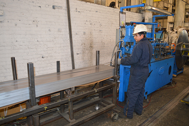 cut-to-length heavy gauge steel